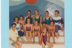 WSB Startschuss, 1. Teilnahme an Kürwettkampf (Bülach 1993)