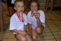 RZO Kidsliga1 1998 in Uster, Roy Eberle und Sarah Heim