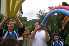 Gratulation zur Hochzeitsfeier von Petra Schaufelberger mit Philipp Meli im Juni 2011