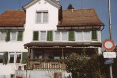Postgässli 1, 1. Schulhaus erbaut 1807, ex Handlung Graf