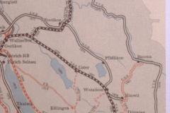 Bahnlinien und ihre Entstehung im ZO