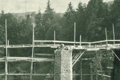 Viadukt Kemptnertobel im Bau ohne Bogen