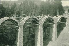 Viadukt im Bau