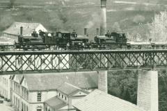 Belastungsprobe Brücke Neuthal