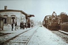 UeBB. Bahneinweihung Station Neuthal