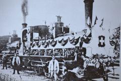 UeBB. Einweihung Lok der Tösstalbahn 23 für die Eröffnungsfahrt