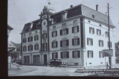 UeBB. Hotel Bachtel. Hier fand am 30.05.1901 das Bankett zur Eröffnung statt