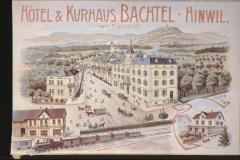 UeBB. Hotel Bachtel Hinwil. Hier fand am 30.05.1901 das Bankett zur Eröffnung statt