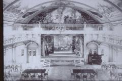 UeBB. Saal im Hotel Bachtel (abgebrannt). Hier fand am 30.05.1901 bei der Eröffnungsfeier das Bankett statt
