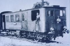 Dampftriebwagen C Zm ,Glettiseli'