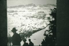 Bei der Allmenschanze in Wappenswil, 30er-Jahre