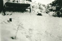 Hans Brunner springt von der Allmenschanze ca. 30m, 30er-Jahre