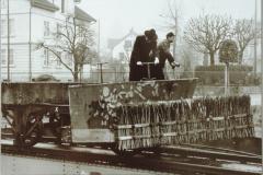 Bahnhof Hinwil, Schienenreinigung