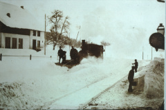 UeBB. Bahnhof Neuthal im Winter