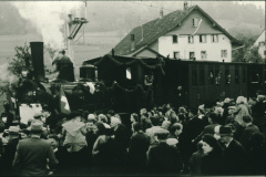 UeBB. letzter Zug auf der Strecke Bauma-Hinwil