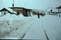 UeBB Station Neuthal im Winter