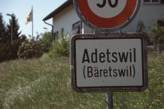 Ausserortstafel 'Adetswil'