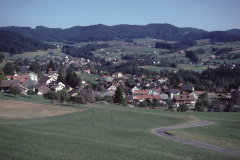 Adetswil, Bäretswil von der Rosinlistr. Aus