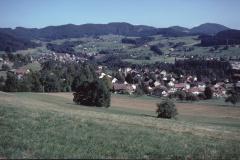 Postkarte. Adetswil und Bäretswil mit Bachtel