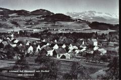 Postkarte. Ad. Bei Bär. Mit Bachtel u. Glärnisch