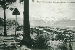 Blick v. Rosinli auf Glarberalpen - Zürichse