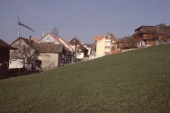 Blick Ritg. Dorf mit Neubauten
