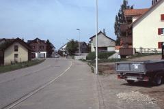 Adetswiklerstrasse beim Dorfeingang