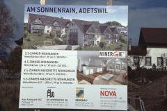 Plakat ,Am Sonnenrain, Adetswil'