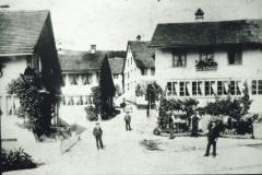 Dorfpartei mit ,Freieck', Brüglenstr