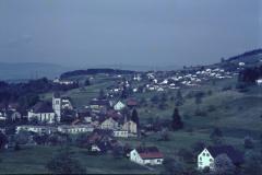 Blick von der Steig auf Dorf + Aemet