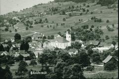 oberhalb Waswies, Blick auf Dorf und Aemet