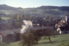 Dorf mit Kirche + Hico vom Lettenberg aus