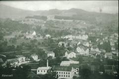Blick vom Lettenberg auf Hico Baumastr Fabrik Spörri (Postkarte)