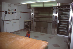 Bäckerei Meier, der 3teilige Ofen