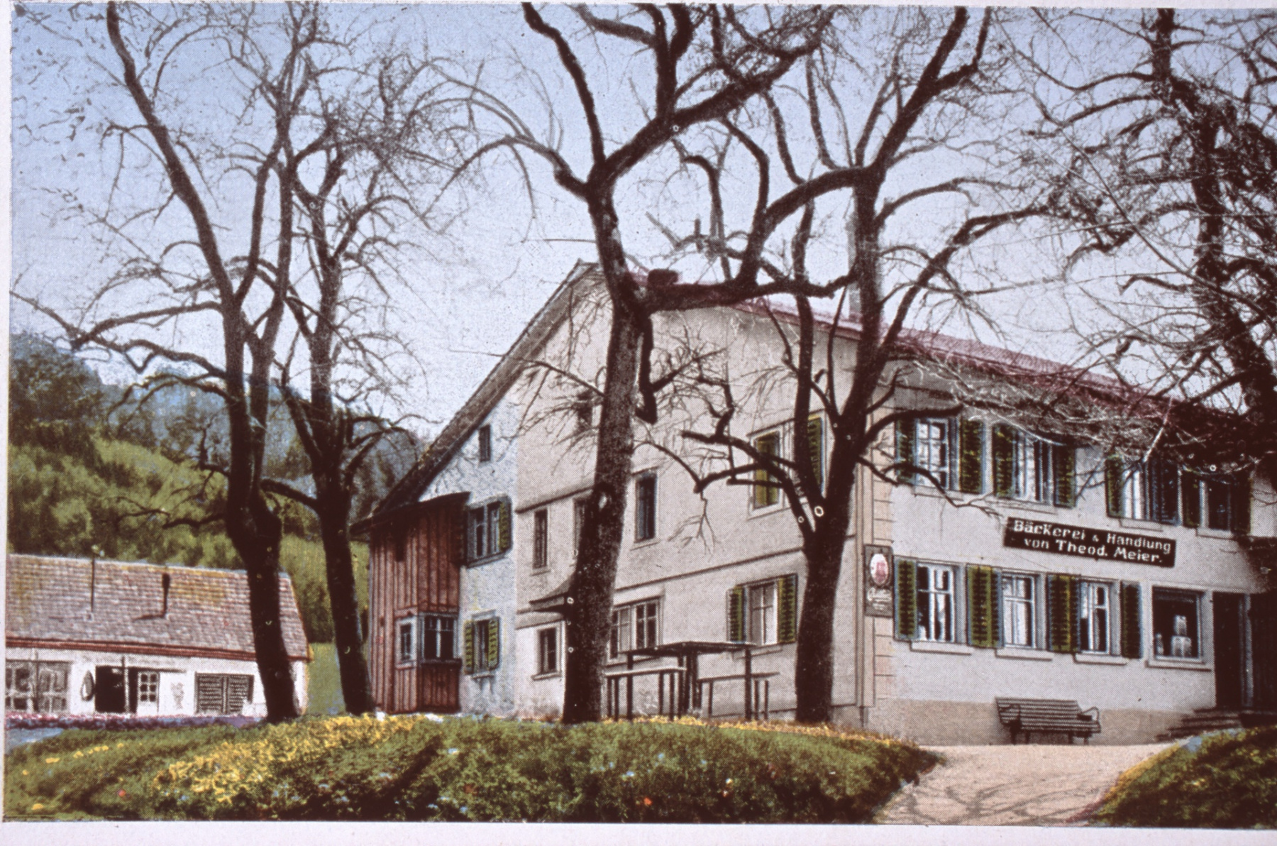 Ansichtskarte Bäckerei Th. Meier