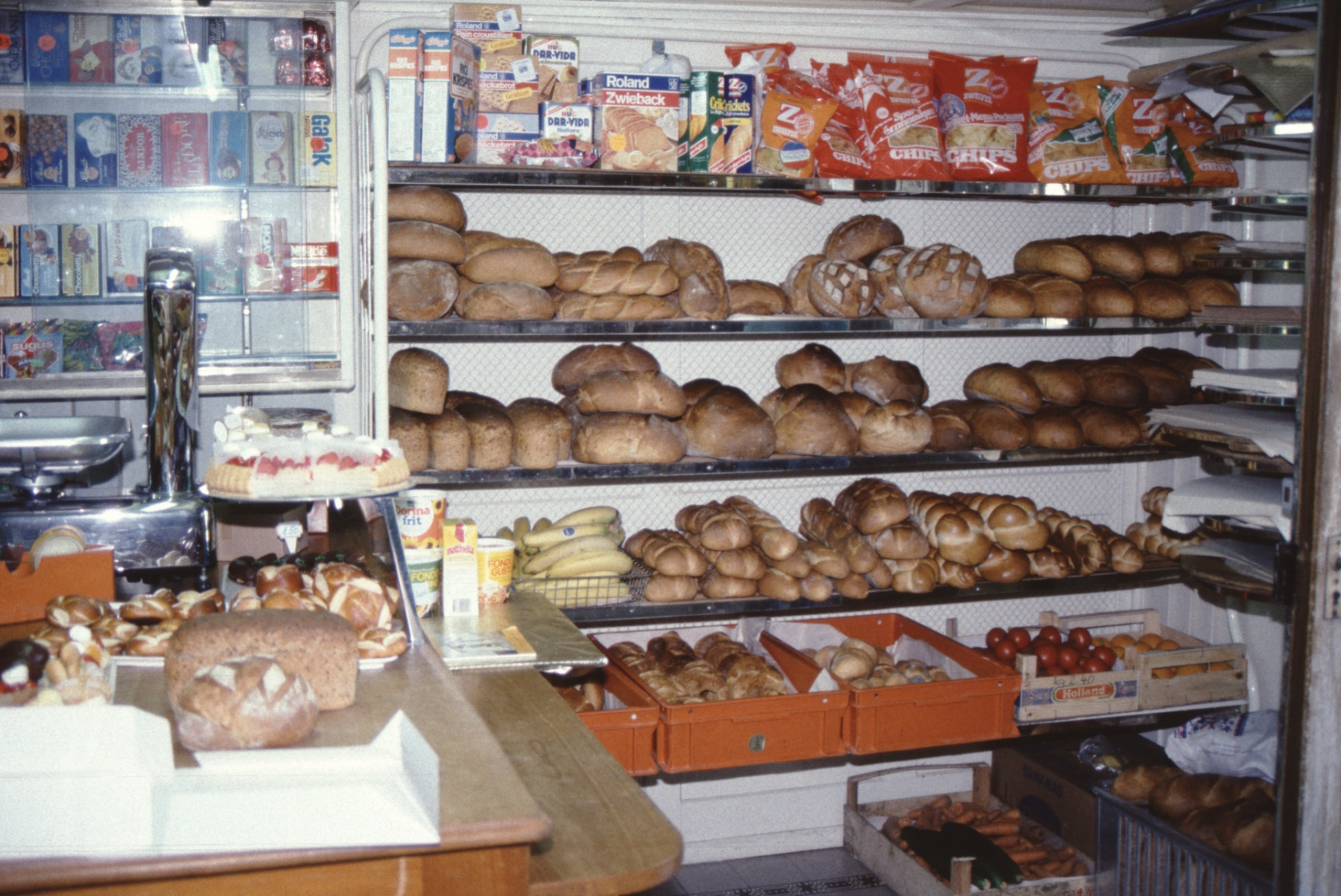Bäckerei Meier, Laden
