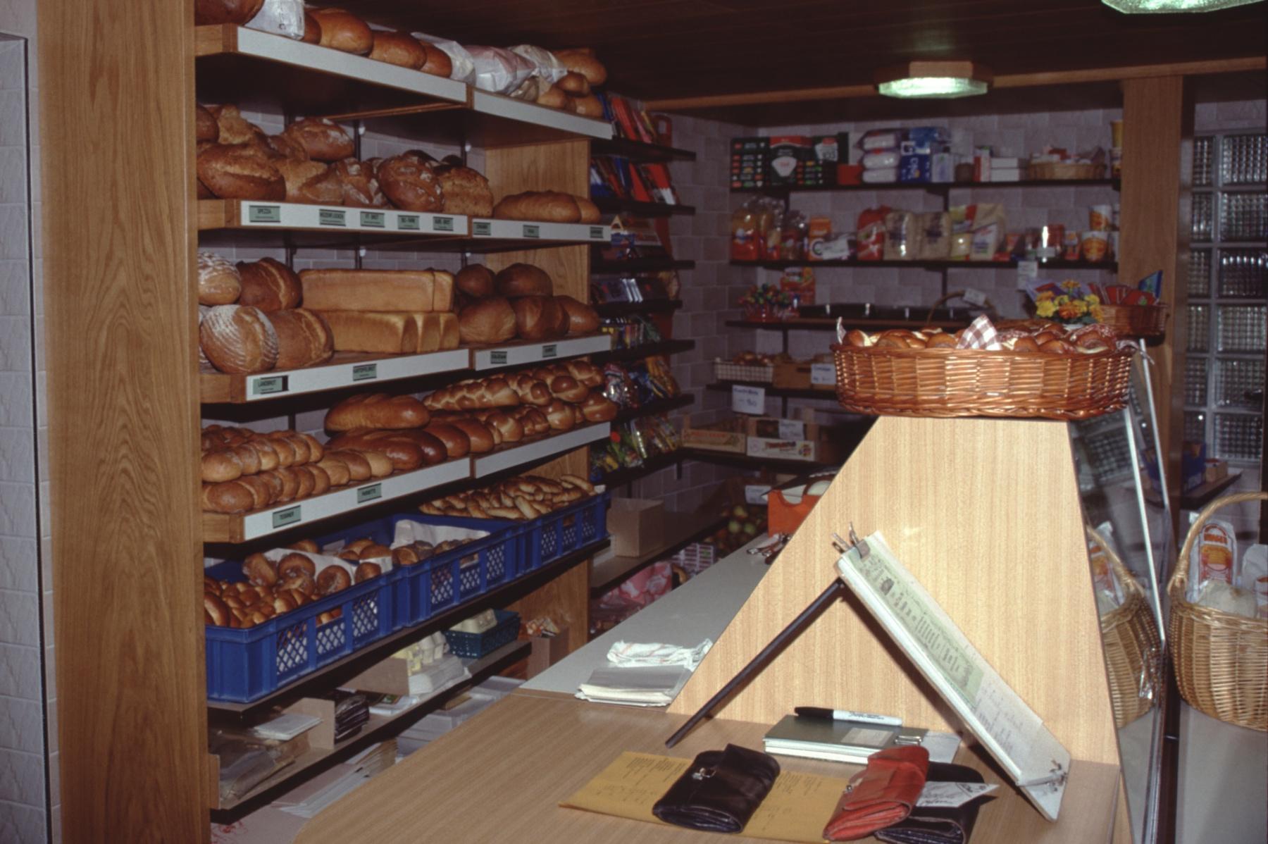 Bäckerei Meier, Laden umgebaut