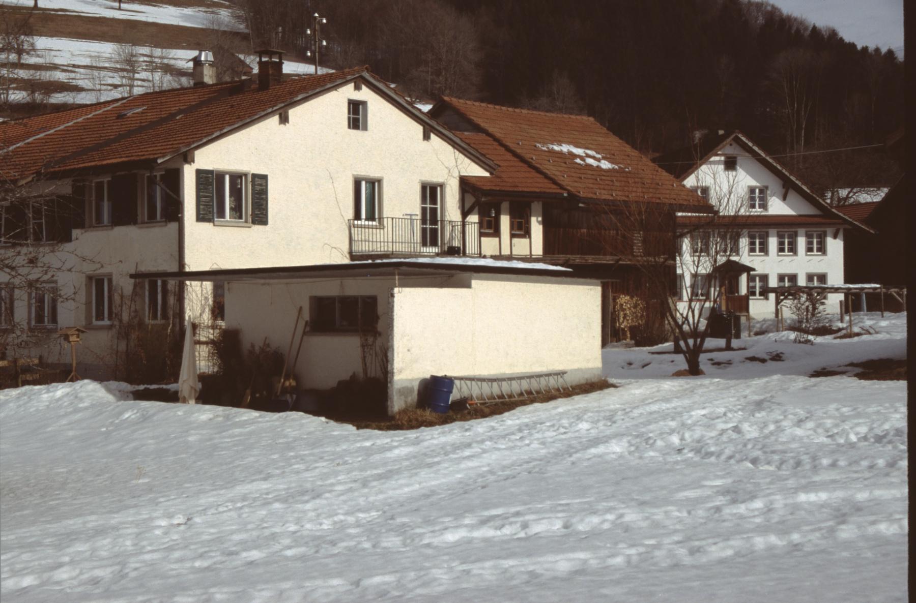 Häuser Reiss - Schneebeli