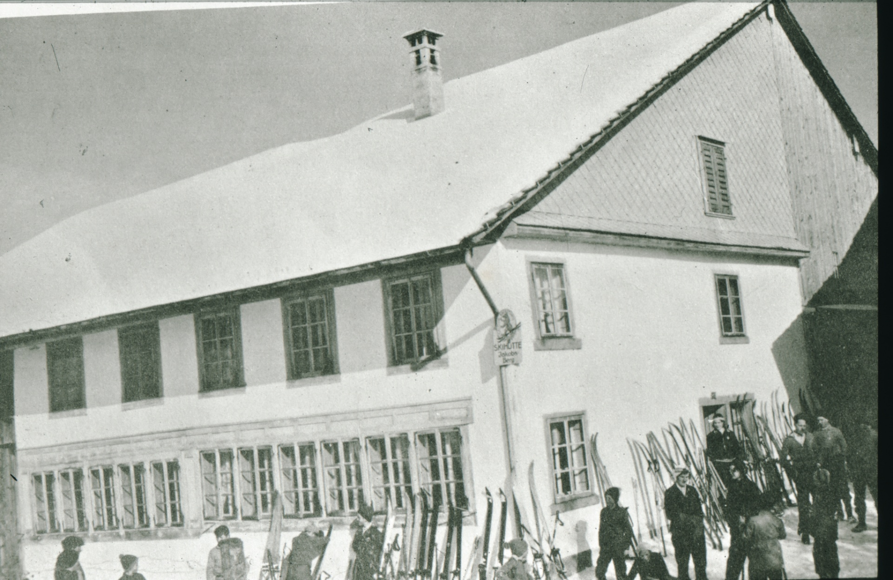 Allenberg, Skihütte