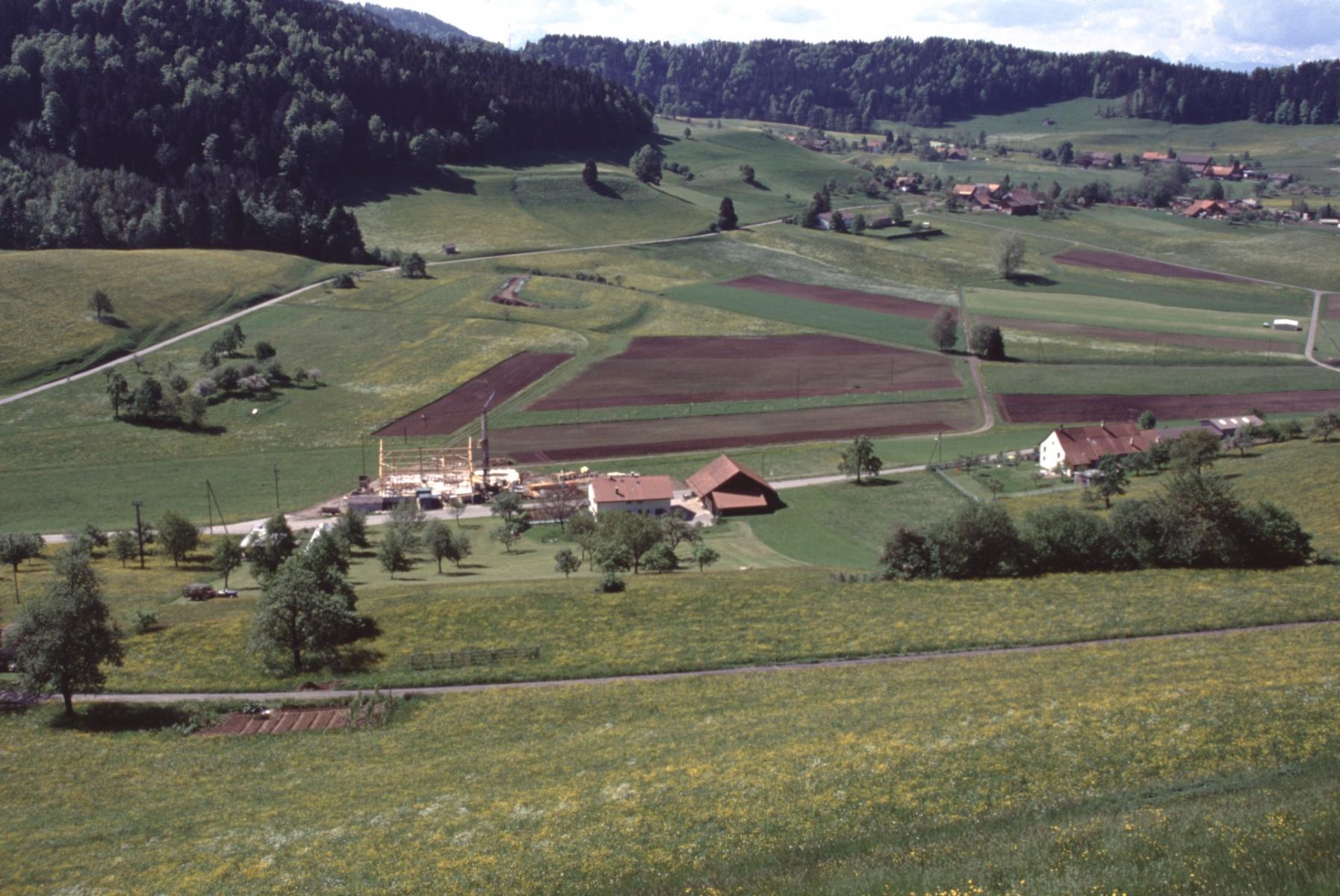Blick vom Allenberg  Rtg Vorderbettswil, Wappenswil