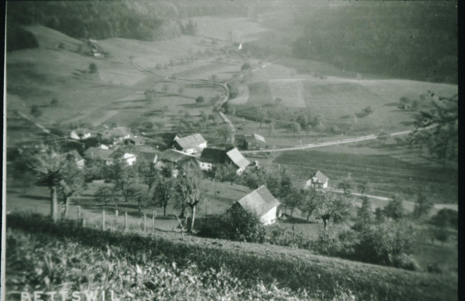 Allenberg. Blick Rtg Bettswil, Obis