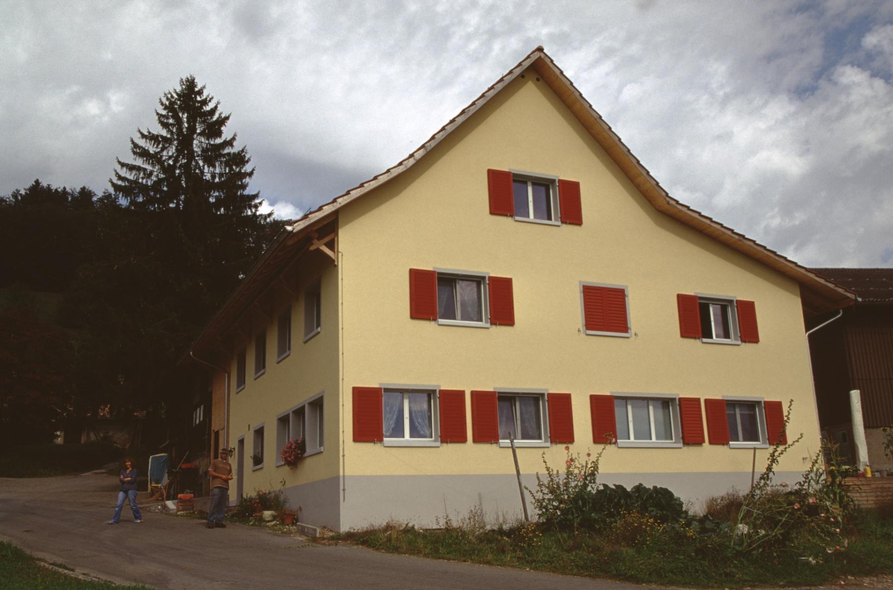Vorderbettswil. Haus Fenner nach Umbau