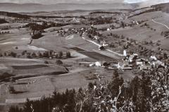 Luftaufnahme Bettswil bis in die Berge