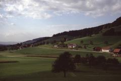 Postkarte Bettswil, Blick Ritg. Vorder-B.