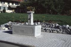 Der neue Dorfbrunnen in Bettswil