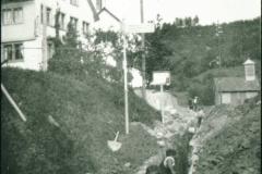 Bau Wasserversorgung beim Res. Walder
