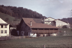 Haus+Scheune Schneebeli, im Higru. Meier
