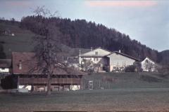 Scheune Schneebeli. Haus Bäckerei Meier