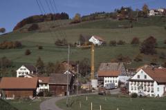 Haus Amacher, Scheune im Ausbau