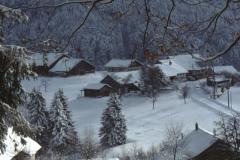 Jakobsberg, Blick auf Häuser Allemberg